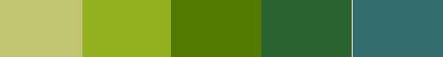 Green energy palette