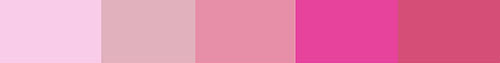 Pink energy palette
