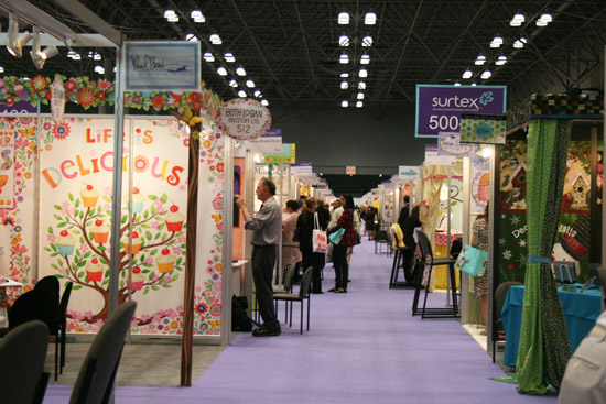 An afternoon at Surtex: Selling & Licensing Original Art & Design Show in New York City
