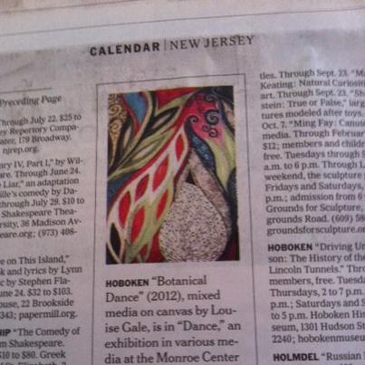 New York Times art exhibitions