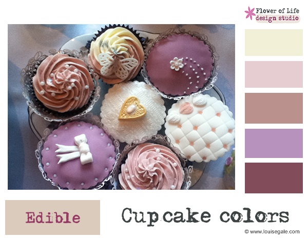 cupcakecolors ©Louise Gale