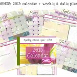 Spring Clean Your Life Calendar