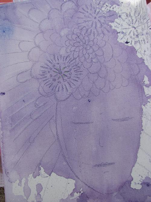 Colour challenge, color, consciousness, purple