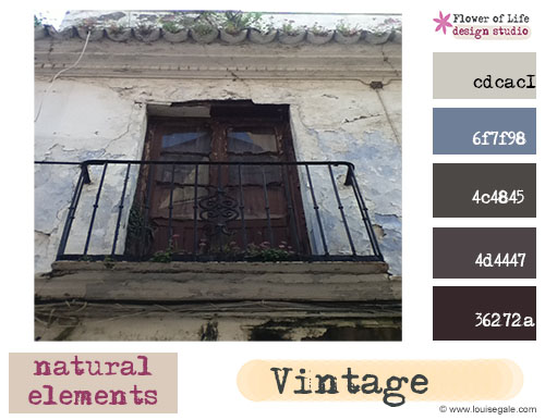 Creative color challenge – September 2013 {vintage}