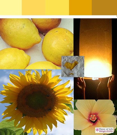 Color stories yellow, solar plexus, sunshine, sunflower