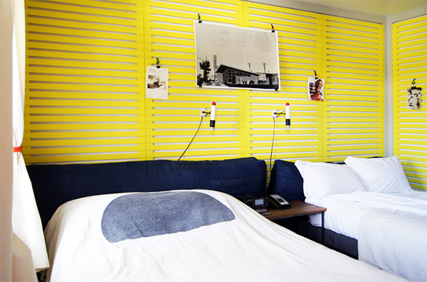 Ace hotel yellow