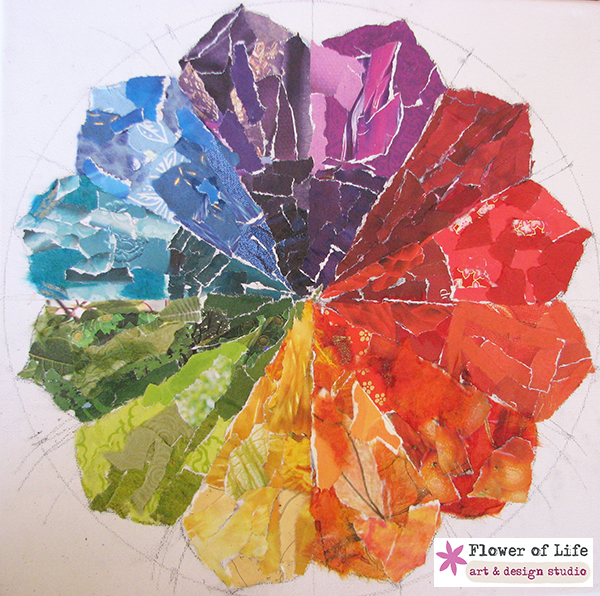 color wheel, rainbow, colours, mandala, circle