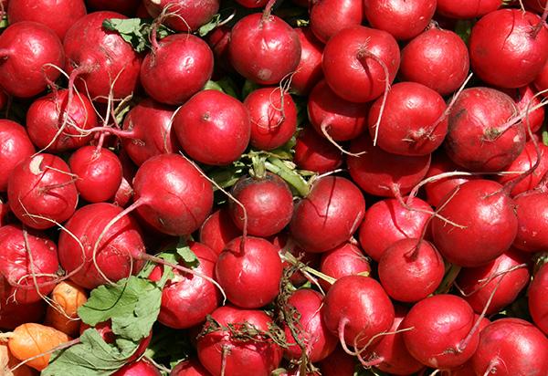 red veggies