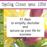 Give your life a spring clean!