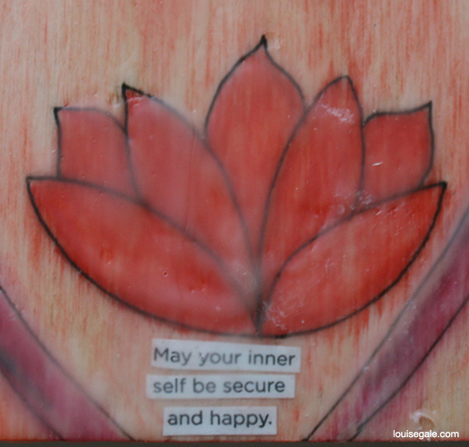 may your inner self be secure and happy red energy chakra