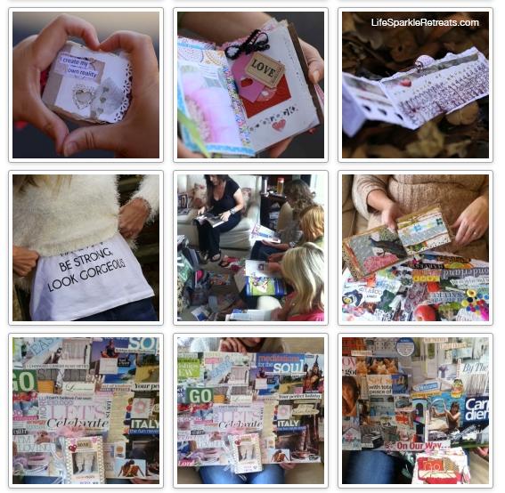 Life Sparkle photo montage