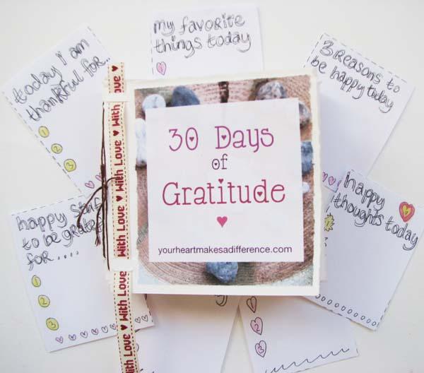 30 days of gratitude challenge #30daysofgratitude