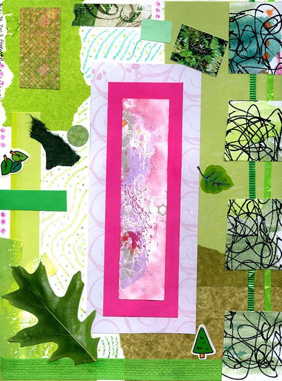 Green&pinklove_Valerie Brown