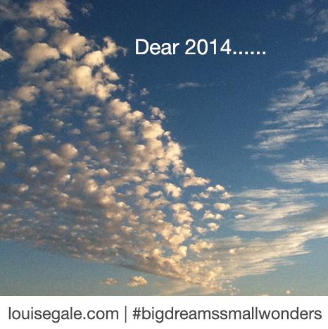 Dear 2014……
