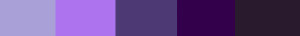 Violet /Purple energy palette