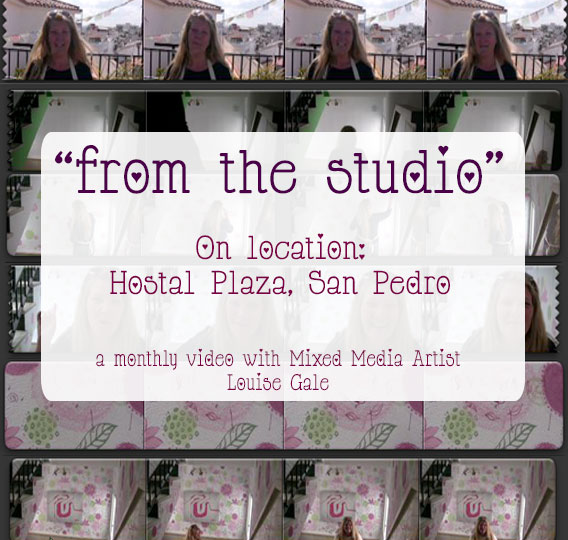 "*New* video: ""From the Studio"" – March 2014 on location at Hostal Plaza, San Pedro"