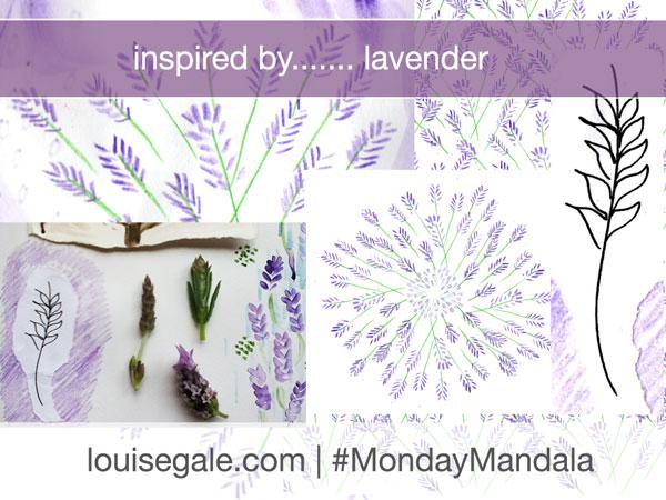 Inspired by Lavender { #MondayMandala }