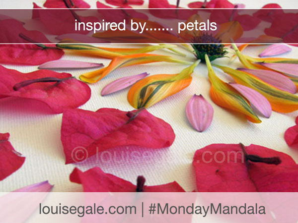 Inspired by…. petals { #MondayMandala }