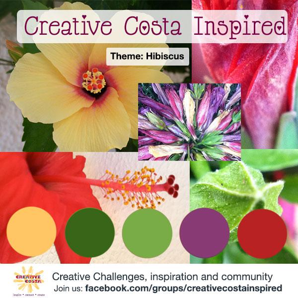 Creative Challenge: Hibiscus {June 2014}