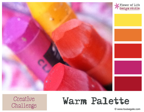 For the love of a warm palette {sunset colours}