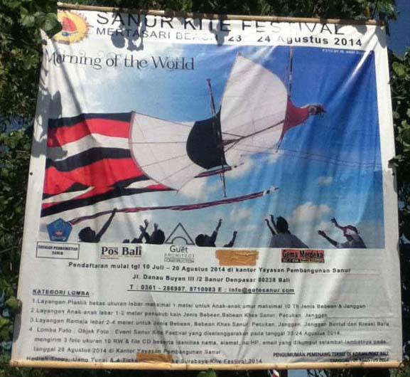 Kite festival poster