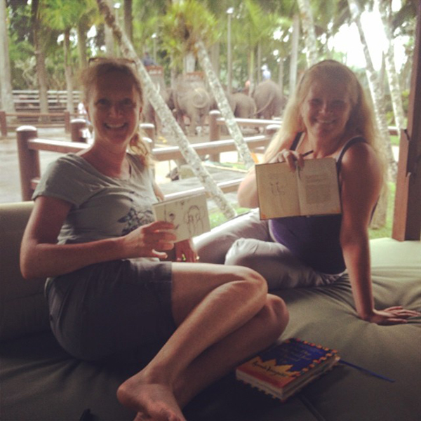 Louise&Tracy_elephantpark
