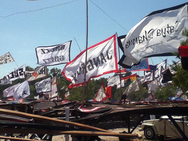 Kites festival scene