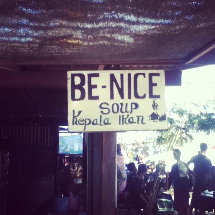 Be Nice Soup