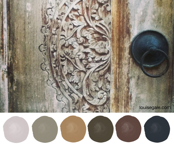 carved door colour story ©Louise Gale