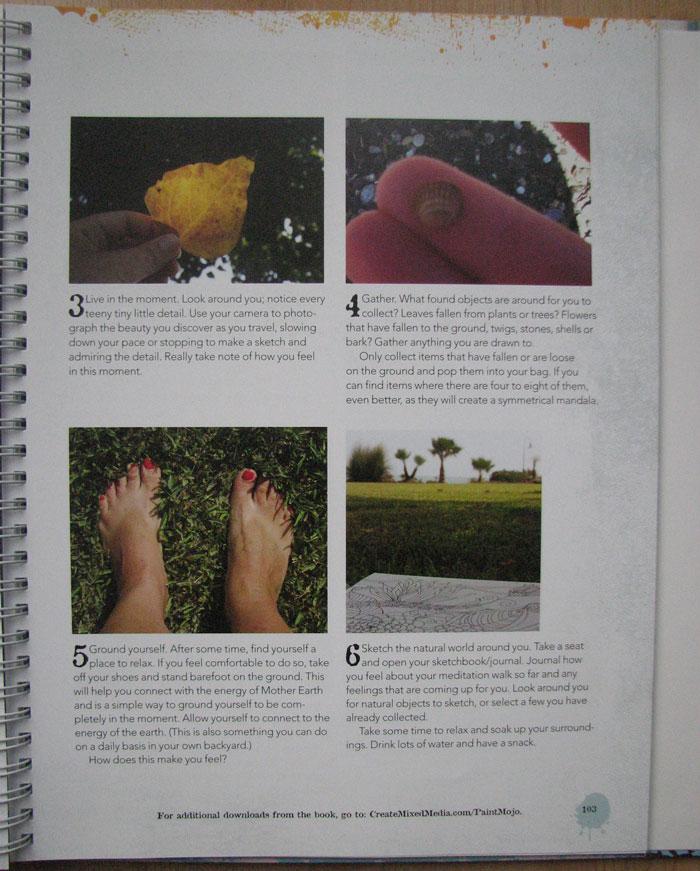 Paint Mojo Tracy Verdugo book_Meditation Walk