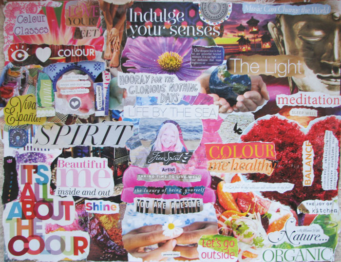 Visioning 2015: My vision board. What is on yours?