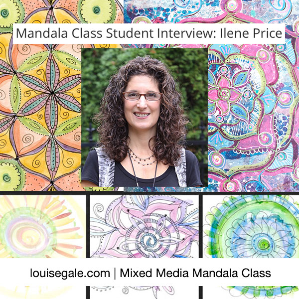 Mixed Media Mandala interview_IlenePrice