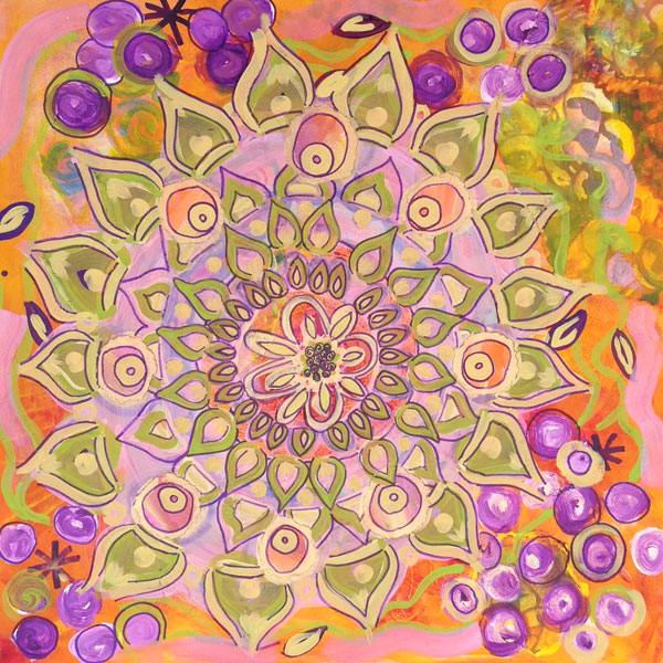 fionafieldhouse mixed media mandala class