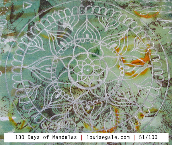 100 Days of Mandalas – Days 51-60