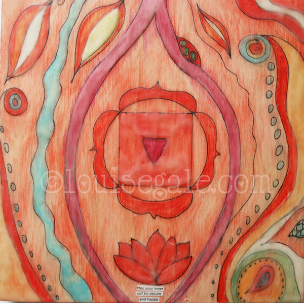 May Your Inner Self be Secure and Happy - Root Chakra Color Energy