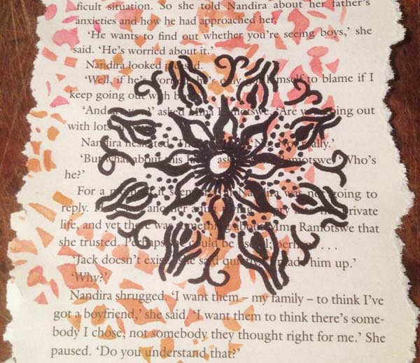Helly Doel‎ mixed media mandalas class