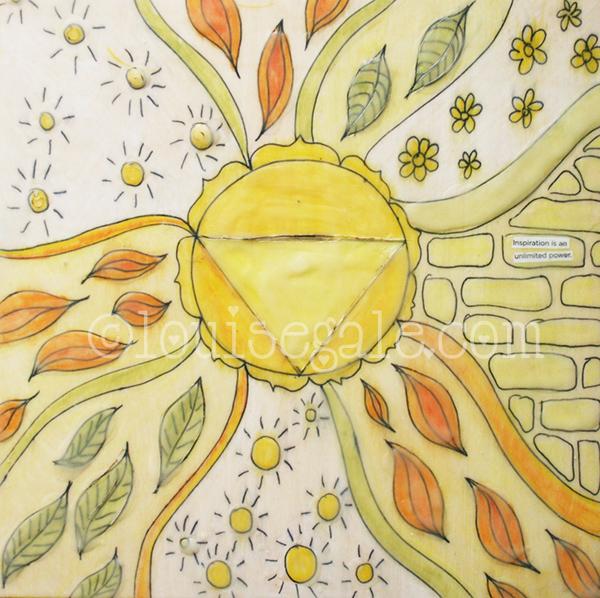 Imagination is our univeral power - Solar plexus Color Energy