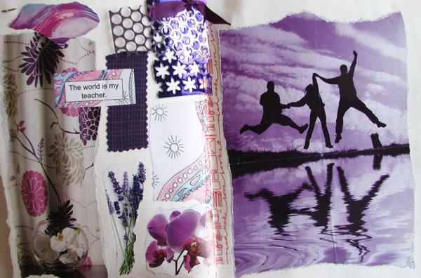 purple journal page