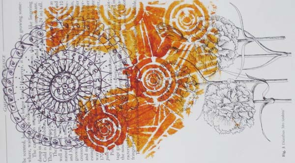 Christine O'Brien Mixed media mandalas