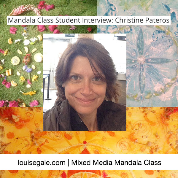 Mandala Class Student Interview: Christine Pateros