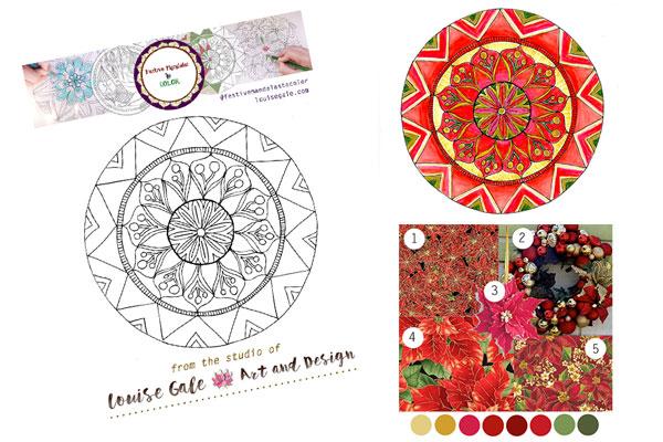 Free mandala coloring pages mandala 1 selection