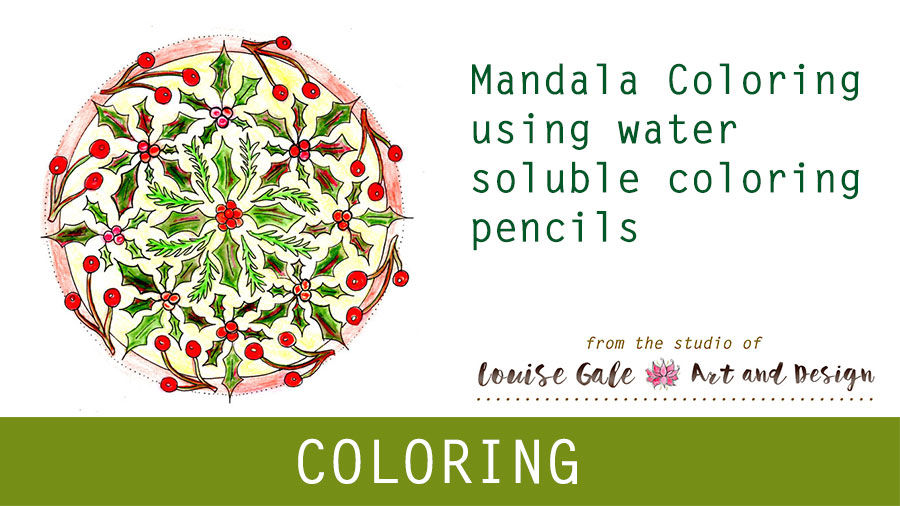 Free Mandala Coloring pages – Mandala #3