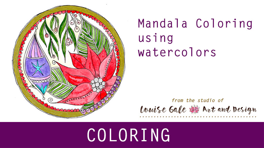 Free Mandala Coloring pages – Mandala #5