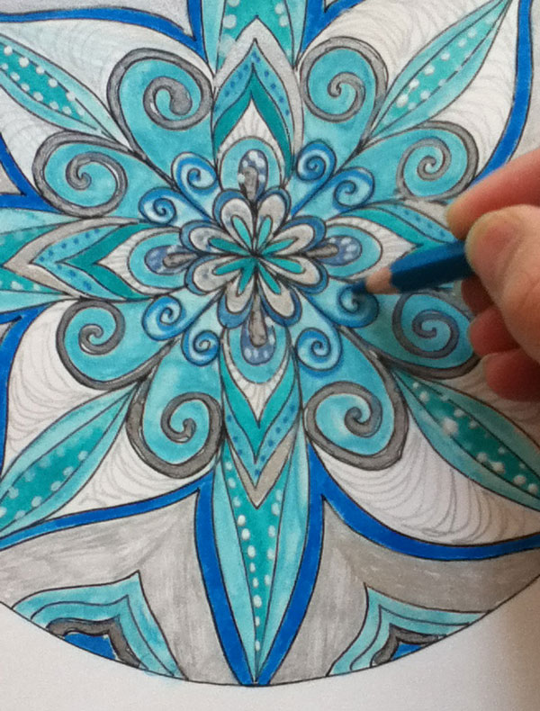 Free Festive Mandala Coloring Pages color Inspiration