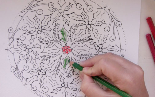 festive mandalas to color, free coloring pages