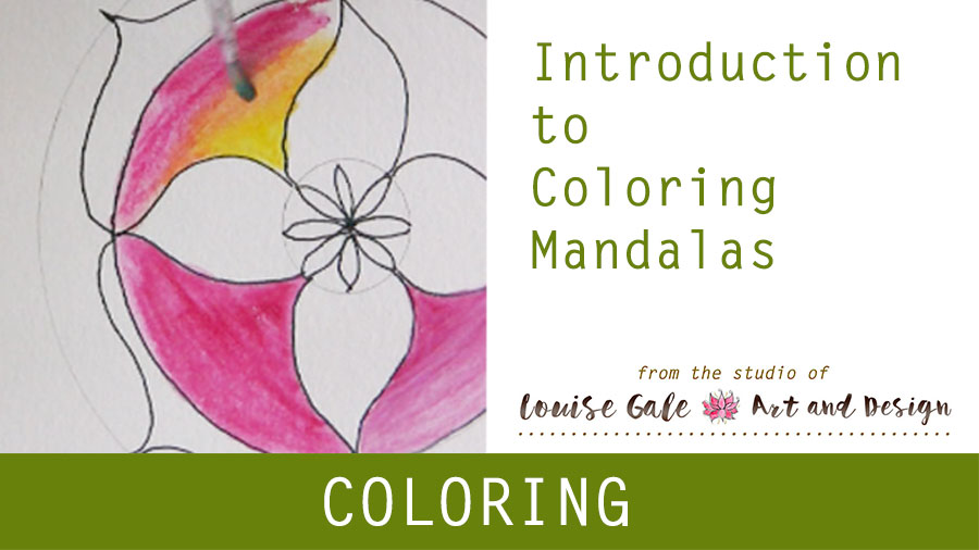 Free Mandala Coloring pages – Coloring introduction