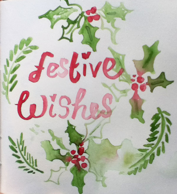 festive wishes Poem from Louise Gale