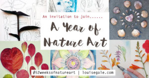 a year of nature inspired art