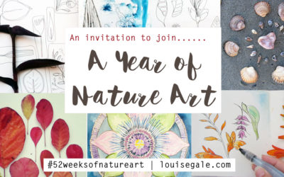 Oh My! A Year of Nature Art – an invitation to join me