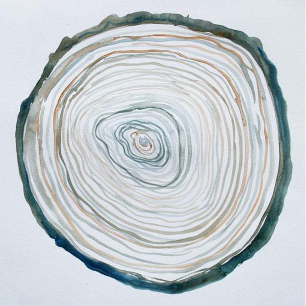 watercolor grain 52 weeks of nature art